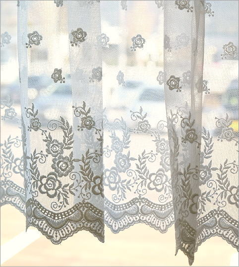 おしゃれ 小窓 カフェカーテン DW(2)