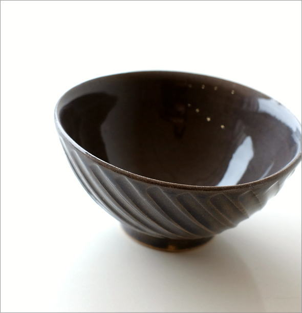 飯碗 グレーnaname(1)