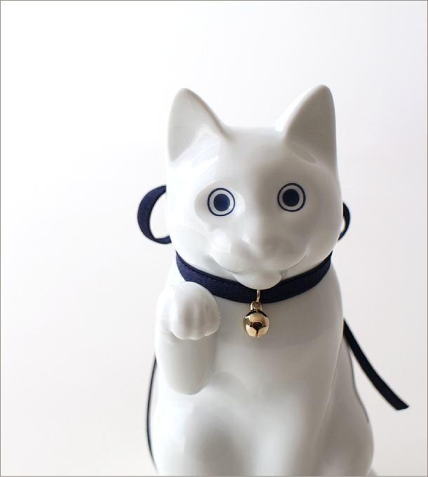 へそくりの招きネコ 白磁(1)