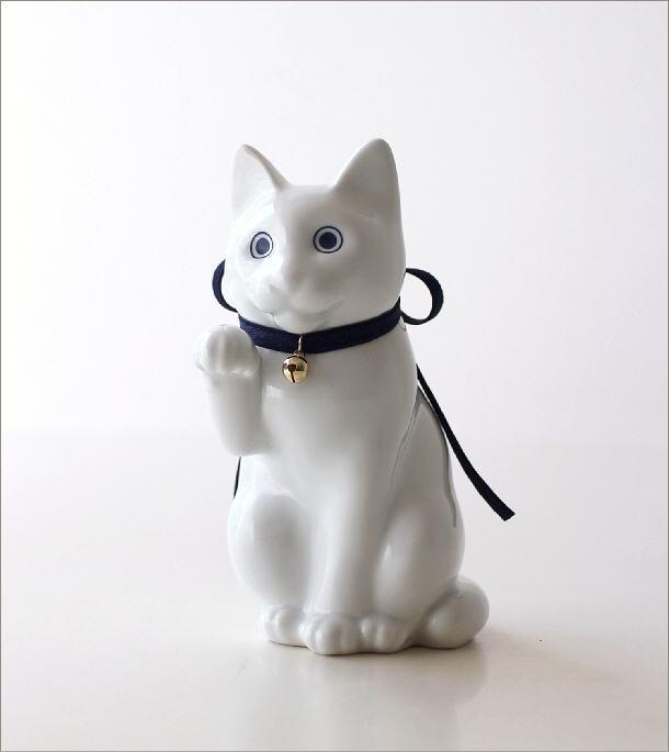 へそくりの招きネコ 白磁(6)