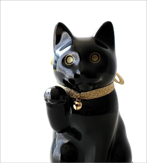 へそくりの招きネコ ブラック(1)