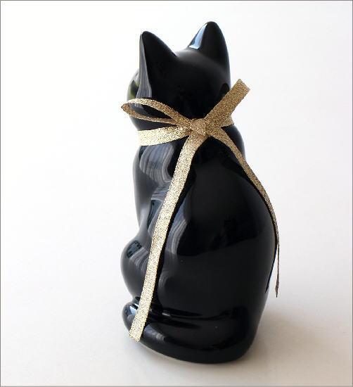 へそくりの招きネコ ブラック(3)
