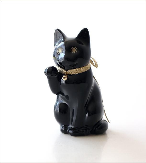 へそくりの招きネコ ブラック(6)