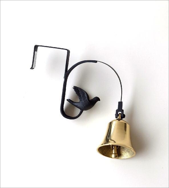 真鍮のドアベル ブラケットタイプバード(3)
